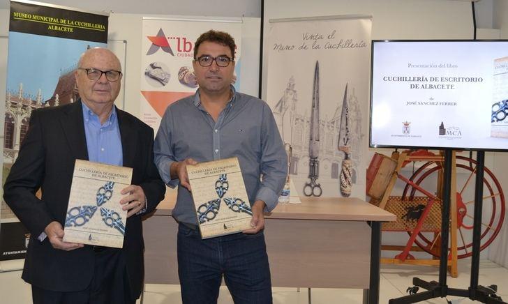 El Museo de la Cuchillería edita el libro 'Cuchillería de Escritorio de Albacete', de José Sánchez Ferrer