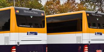 Monbus avisa a varios ayuntamientos de Albacete que el sábado dejan de tener autobús de línea