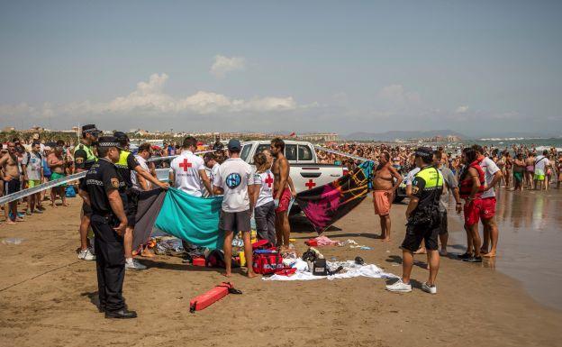 El joven muerto en la playa de Valencia, tras salir de una discoteca, era de Albacete