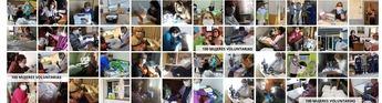 100 costureras de 4 pueblos Albacete elaboran 20.000 mascarillas y 350 batas