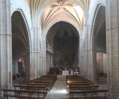 La Junta colabora en la restauración del Retablo del Altar Mayor de la Iglesia de la Trinidad en Alcaraz