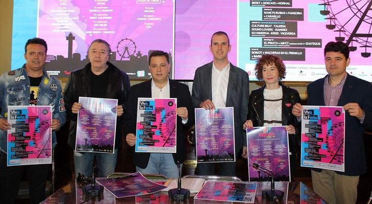 Melendi, Manu Carrasco y Leiva, algunos de los músicos que pasarán en los próximos meses por Albacete
