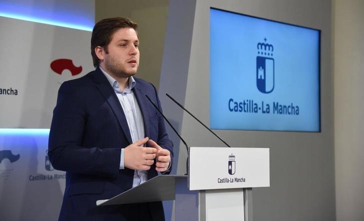Nacho Hernando, consejero de Fomento.