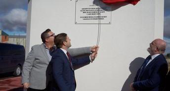 Nacho Hernando inaugura en Balazote (Albacete) la ampliación del polígono industrial
