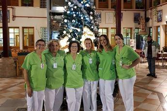 Cruz Blanca de Hellín celebra su 'Navidad en familia'