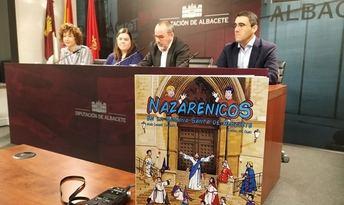 La Diputación de Albacete edita 'Nazarenicos', libro solidario para ser una guía de la Semana Santa para niños y niñas