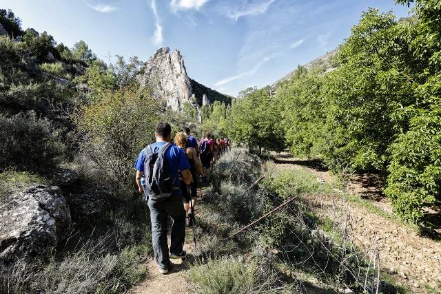 Nerpio sorprendió con la XXV Ruta Senderista de la Diputación