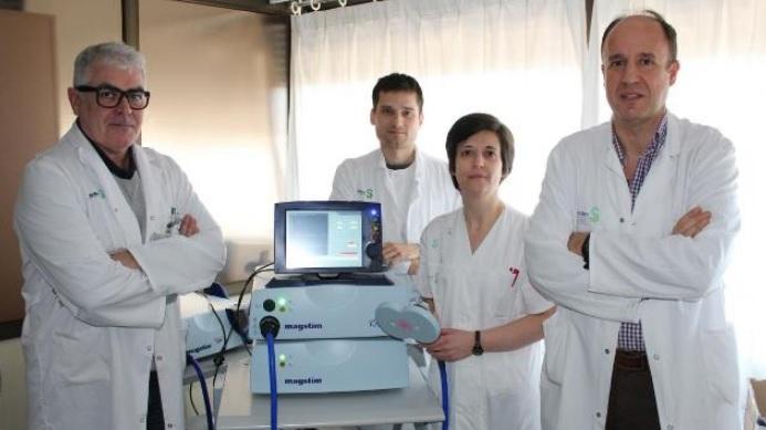 Segura, con su equipo en Albacete, en una imagen de archivo.