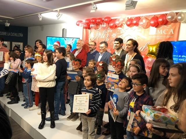 600 niños han participado en Albacete en el XVII Concurso de Dibujo Infantil sobre Cuchillería 'Amós Núñez'