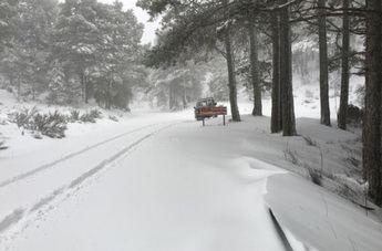Albacete puede registrar acumulaciones de nieve de 20 centímetros en Alcaraz y Sierra del Segura