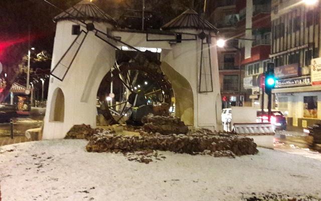 Nieve en Albacete, cortada la A-43 en Villarrobledo y rescatada una pareja y su bebé en Nerpio