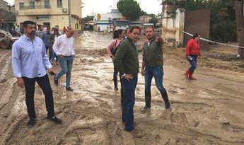 """Cospedal se solidariza con Cebolla (Toledo) y afirma que Page y la Junta estén """"ausentes"""""""