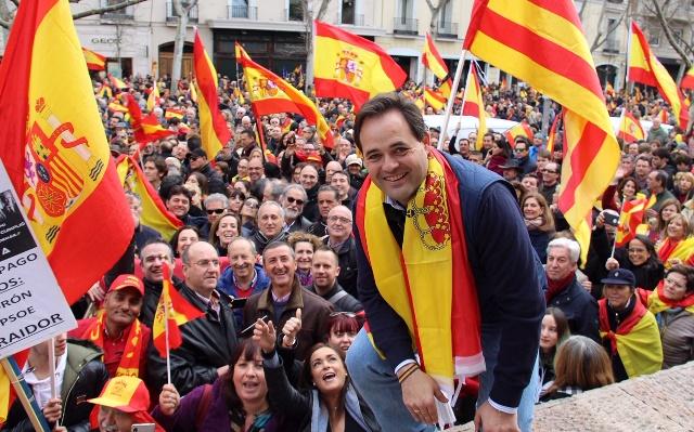 """Núñez (PP): """"Basta ya de cesiones, de chantajes y de jugar con la unidad de España. Reclamamos elecciones ya"""""""