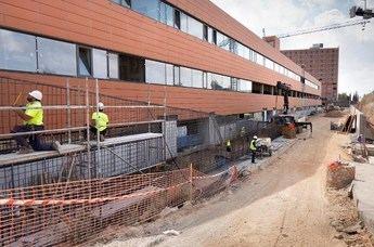 Sescam firma la recepción parcial de la ampliación del Hospital Universitario de Guadalajara tras finalizar las obras