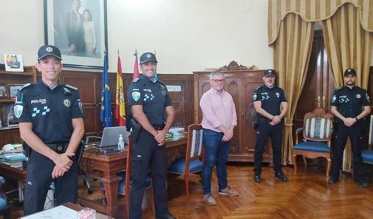 La Policía Local de Hellín refuerza su plantilla con un nuevo agente