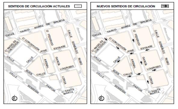 El Ayuntamiento de Albacete elimina el doble sentido en varias calles del barrio Polígono San Antón