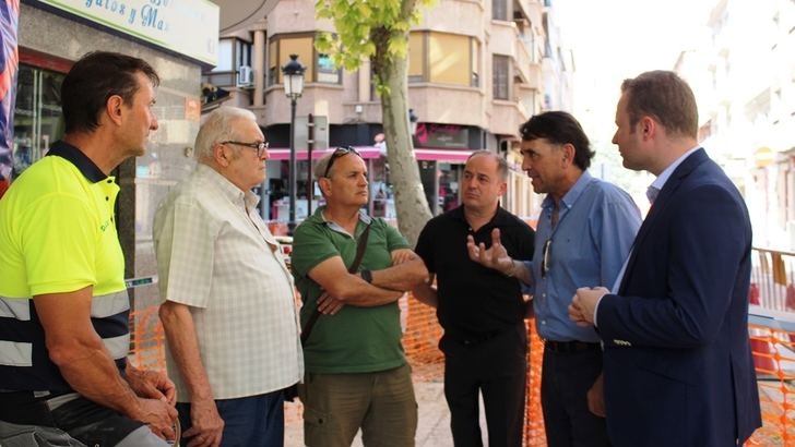 El Ayuntamiento de Albacete reanuda este miércoles las obras de la calle Blasco Ibáñez