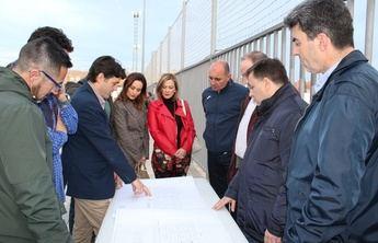 El Ayuntamiento de Albacete destina 850.000 euros a mejores en los campos de fútbol del Carlos Belmonte y su iluminación
