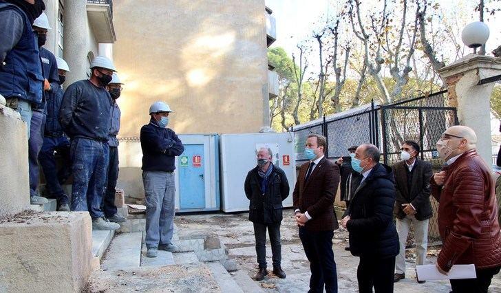 Comienzan las obras para rehabilitar el edificio de la antigua comisaría de Simón Abril, en Albacete