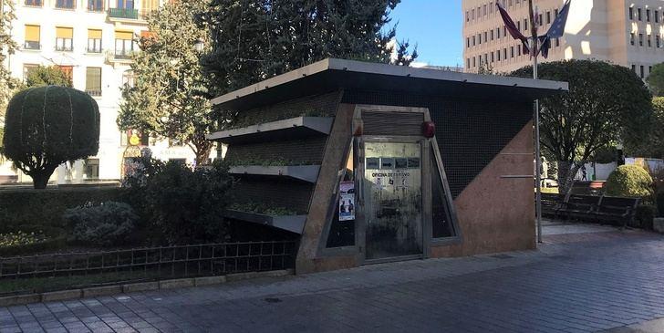 Comienza en Albacete la rehabilitación de la Oficina de Turismo y de los refugios antiaéreos de la plaza del Altozano