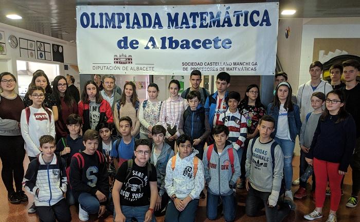 El día 18 se entregan en la Diputación de Albacete los premios de la Olimpiada Matemática