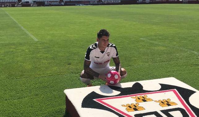 Mathias Olivera: 'Vengo al Albacete para tener continuidad y jugar el play-off'