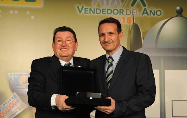 Rafael Rodríguez Rueda, trabajador en Albacete, elegido mejor vendedor de la ONCE 2018 en Castilla-La Mancha