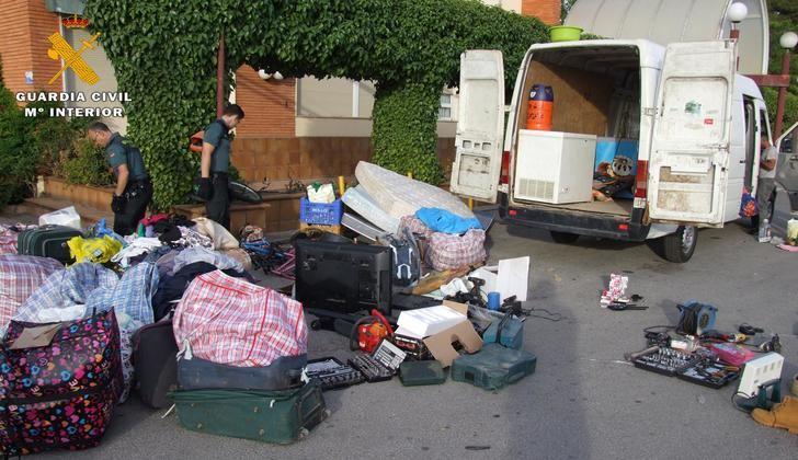 Siete personas detenidas por 63 robos con fuerza en las provincias de Albacete, Ciudad Real y Cuenca