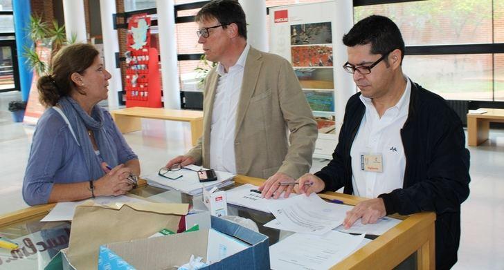 1855 opositores realizan en Albacete los exámenes de las oposiciones de Castilla-La Mancha para auxiliar educativo y de enfermería