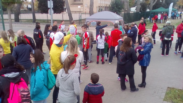 El Campeonato Escolar de orientación deportiva comenzó en Madrigueras (Albacete)