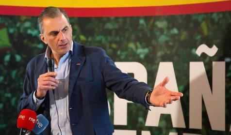 Ortega Smith califica en Albacete al Gobierno de Sánchez de 'criminal' y de haber llevado a los españoles 'a la mayor ruina'