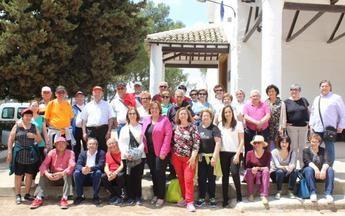 Más de 150 personas mayores disfrutaron de la II ruta senderista en la provincia de Ciudad Real