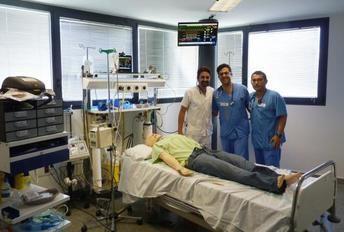El aula de simulación del Hospital de Ciudad Real se convierte en referente nacional para la formación de sanitarios