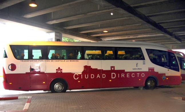 El transporte urbano por autobús sube en Castilla-La Mancha un 4,5 por ciento