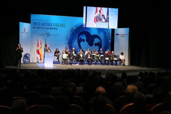 El 1 de octubre se abre el plazo de candidaturas a los Reconocimientos a la Iniciativa Social 2018 en Castilla-La Mancha
