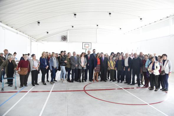 El Plan de Infraestructuras priorizará la construcción de instalaciones deportivas en municipios que no tengan