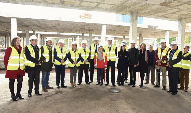 Se reinician las obras del centro se salud de Santa Bárbara (Toledo)