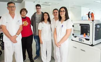 Pacientes del Hospital de Toledo contarán con el avance de la tecnología de impresión 3D