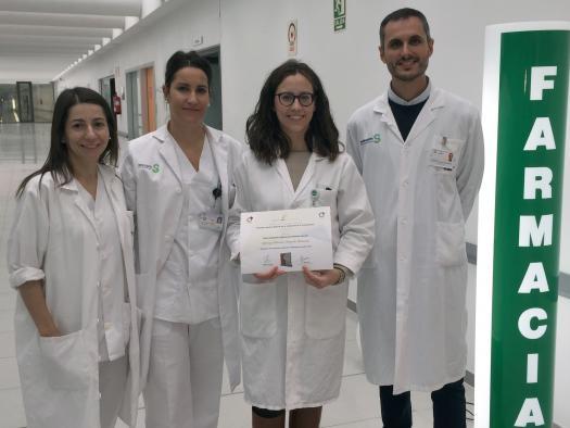 El servicio de Farmacia de Almansa, finalista en unos premios nacionales por un proyecto de adherencia al tratamiento