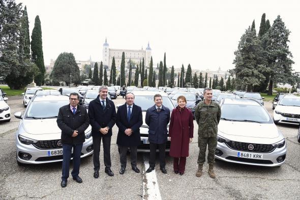 Castilla-La Mancha invierte 2,2 millones para vehículos eficientes y renovar el 20 por ciento de la flota de turismos del Parque Móvil