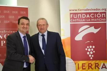 La Fundación 'Tierra de Viñedos' y la OIVE se unen para promocionar la cultura del vino en Castilla-La Mancha