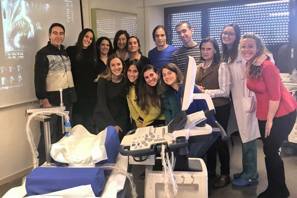 El Hospital de Guadalajara inicia un proyecto para el cribado de la displasia en la cadera