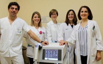 El Hospital de Toledo incorpora una nueva técnica para el tratamiento de las tendinitis