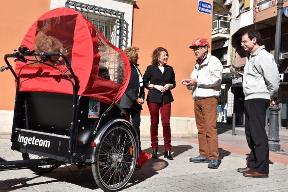 El proyecto 'En Bici sin Edad' lucha contra la soledad de las personas mayores y con discapacidad de Castilla-La Mancha