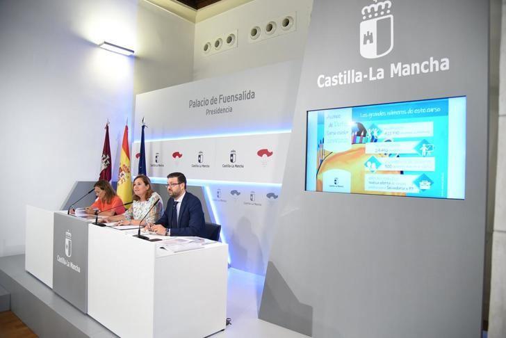 El nuevo curso escolar en Castilla-La Mancha comienza con 421.770 alumnos y 300 profesores más que en 2018