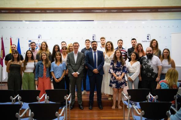 Castilla-La Mancha garantiza oportunidades de formación a los jóvenes