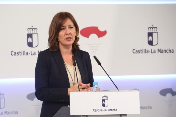 El Instituto de la Mujer de Castilla-La Mancha se suma a la 'emergencia feminista' con la iluminación de los edificios