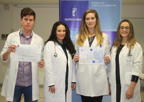 Médicos residentes de Atención Primaria de Toledo premiados en el II Congreso de médicos jóvenes