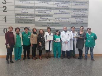 El Hospital de Ciudad Real premiado por su proyecto de colaboración con los pacientes