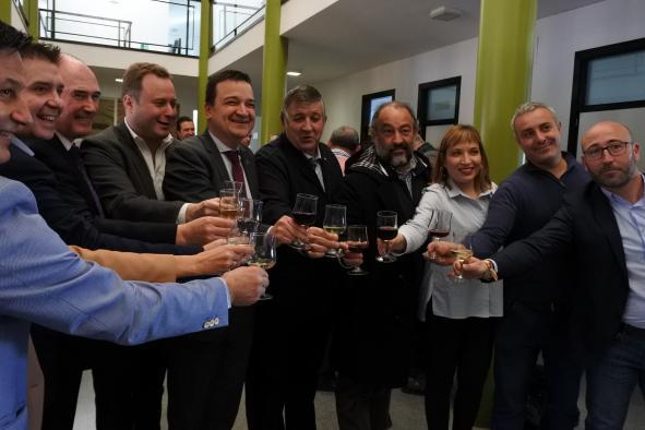 Brindis en la Lonja de Albacete para dar comienzo a un año importante en el sector primario provincial